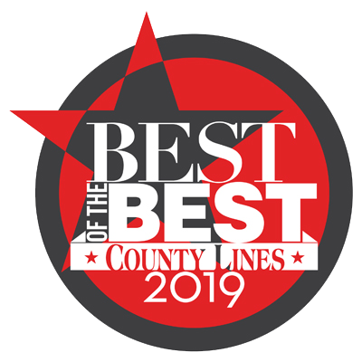 Best of the Best County Lines 2019 award logo