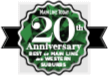 Best of the Main Line & Western Suburbs 20th Anniversary Award